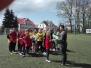 mini piłka nożna dziewcząt