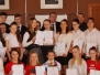 Najlepsi uczniowie na sesji Rady Gminy
