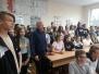Pożegnanie uczniów z Niemiec
